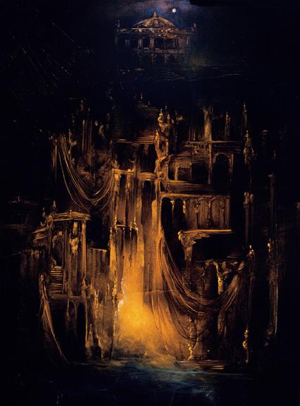http://www.cfmgallery.com/Artwork/Anne-Bachelier/Anne-Bachelier-Artwork/Bachelier-Phantom-Opera-house.jpg