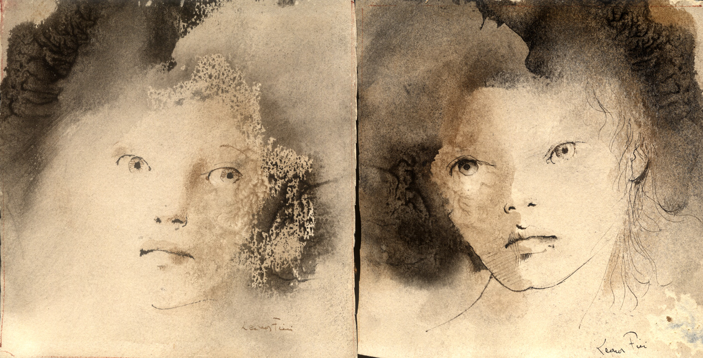 Leonor Fini Original Watercolors At Cfm Gallery