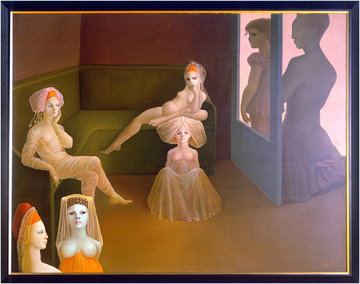Leonor Fini Oil Painting