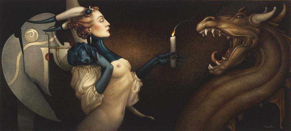 Estremamente Michael Parkes: Magic Realism JX83